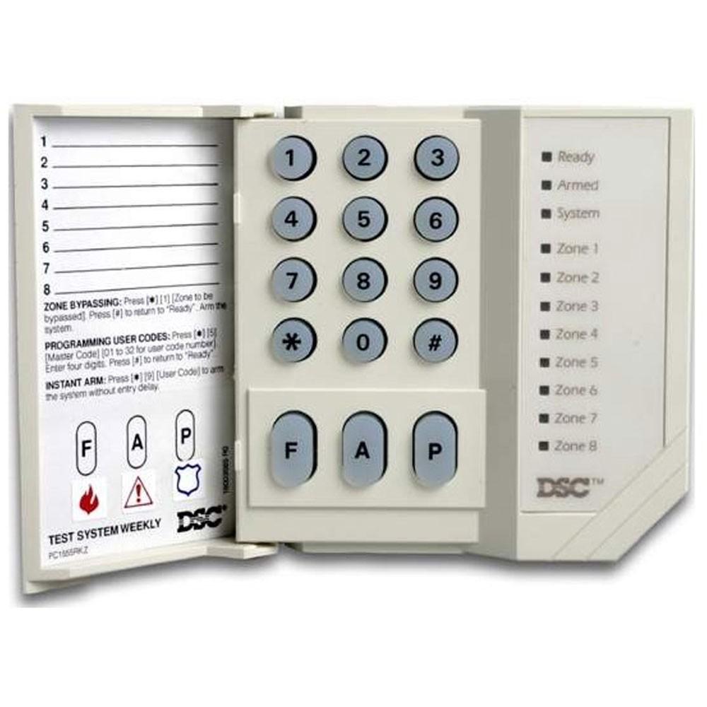 DSC Alarm Keypad 8 Zone LED
