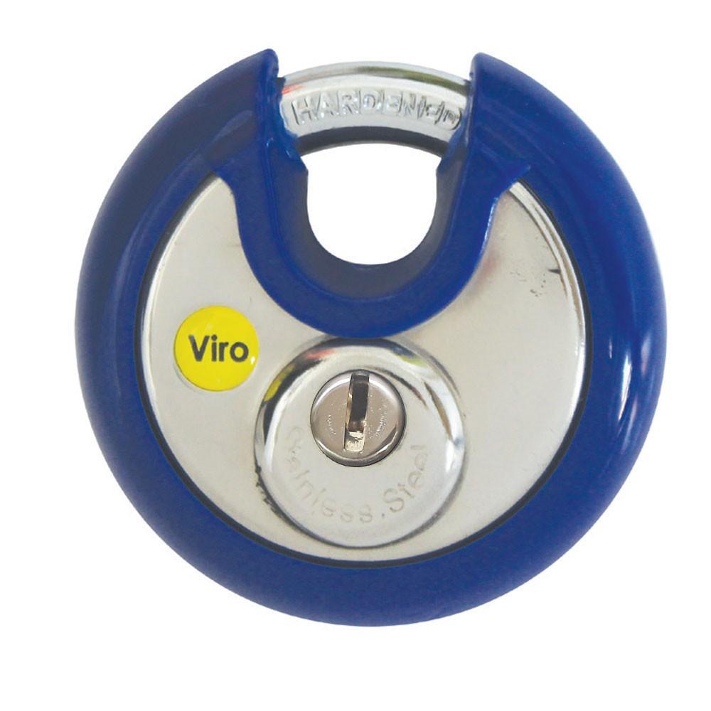 Viro Discus Padlock 70mm Flat Key