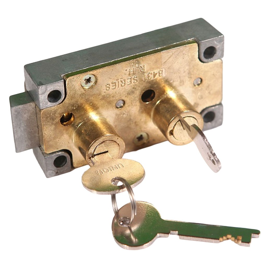 Union Dual Safety Deposit Lock