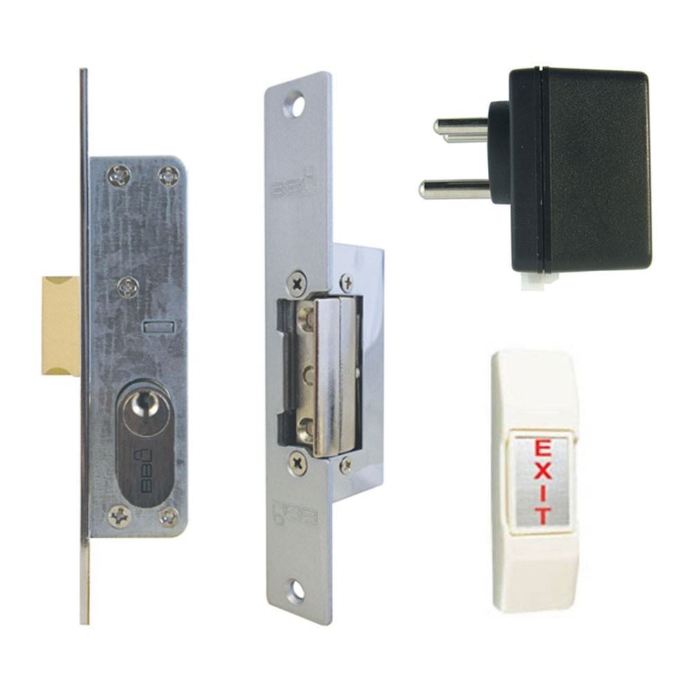 Fortis Electric Lock Kit For Metal Gates