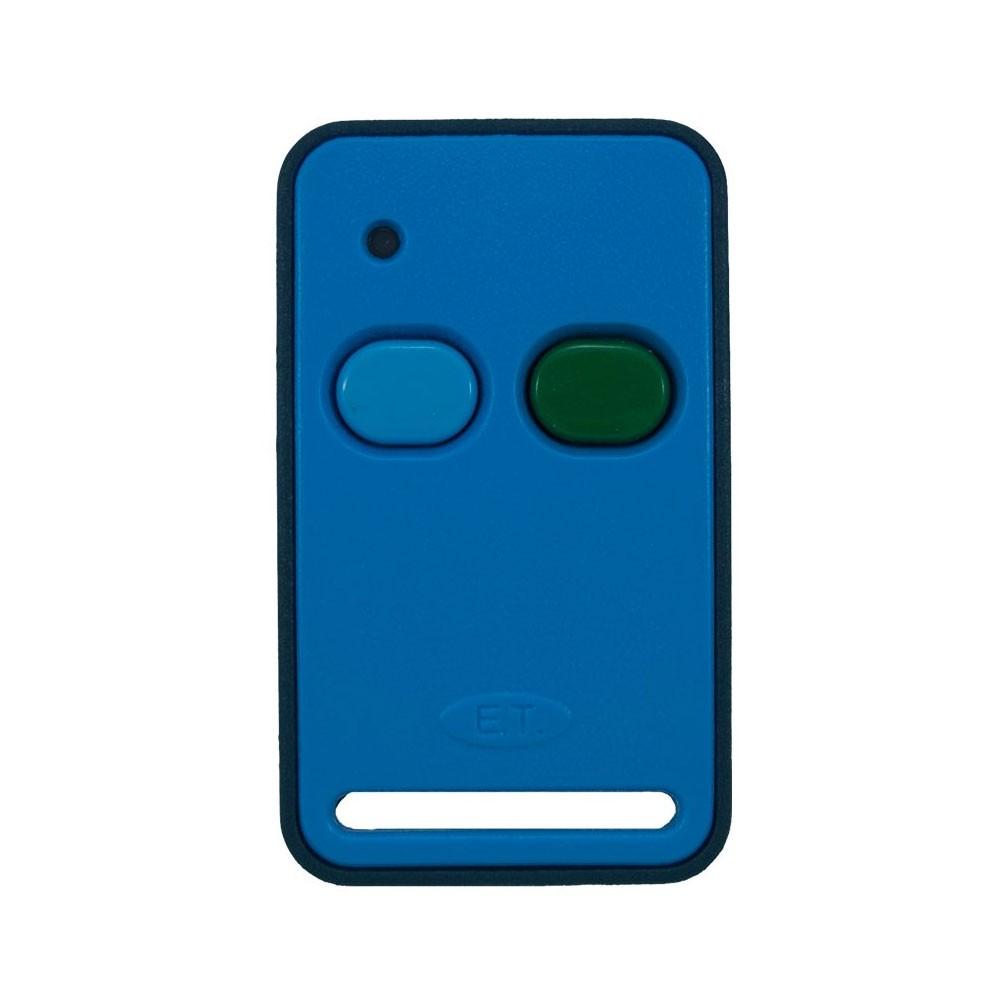 ET Blue Transmitter 2 Button