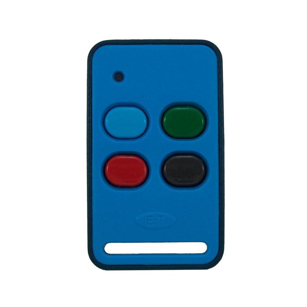 ET Blue Transmitter 4 Button