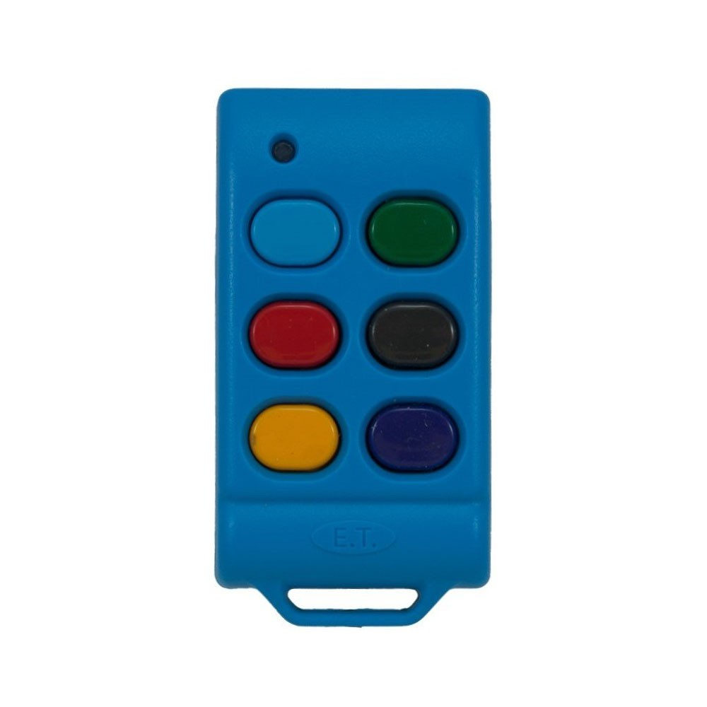 ET Blue Transmitter 6 Button