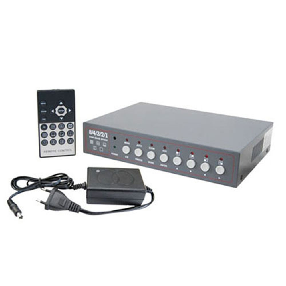 Fortis Dual Quad 8 Channel Switcher