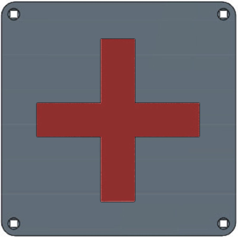 Union Engraved Plate First Aid