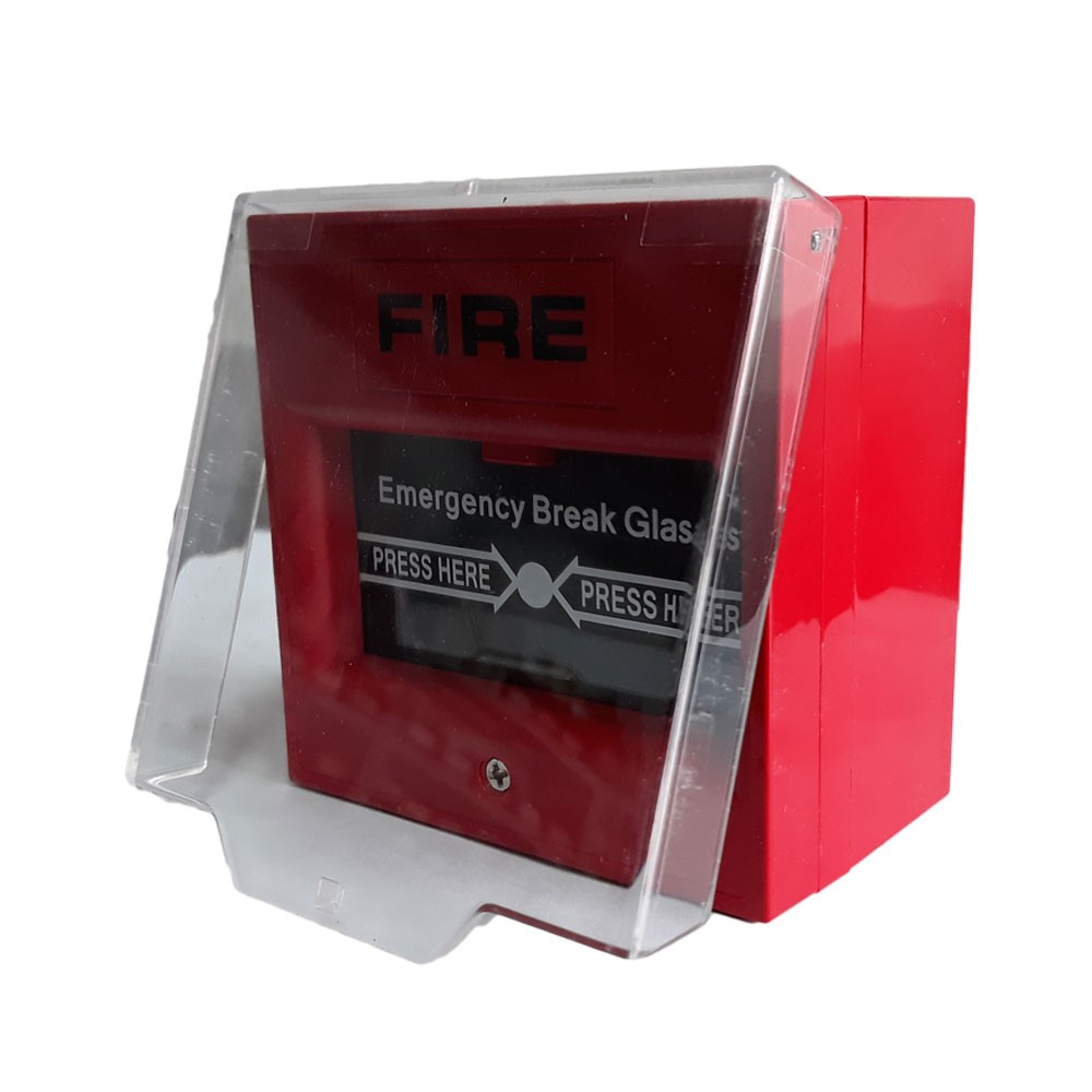 Securi-Prod Fire Alarm Red Call Point