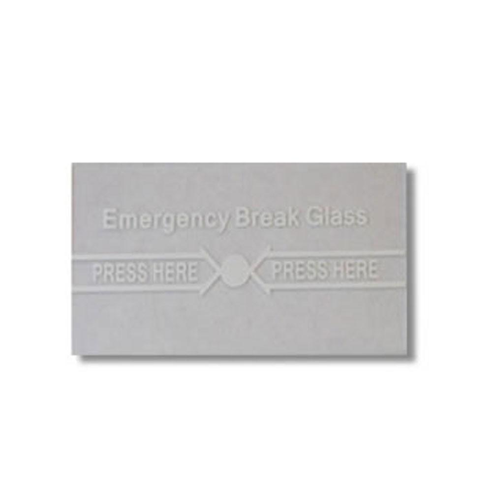 Securi-Prod Fire Alarm Call Point Spare Glass FR03