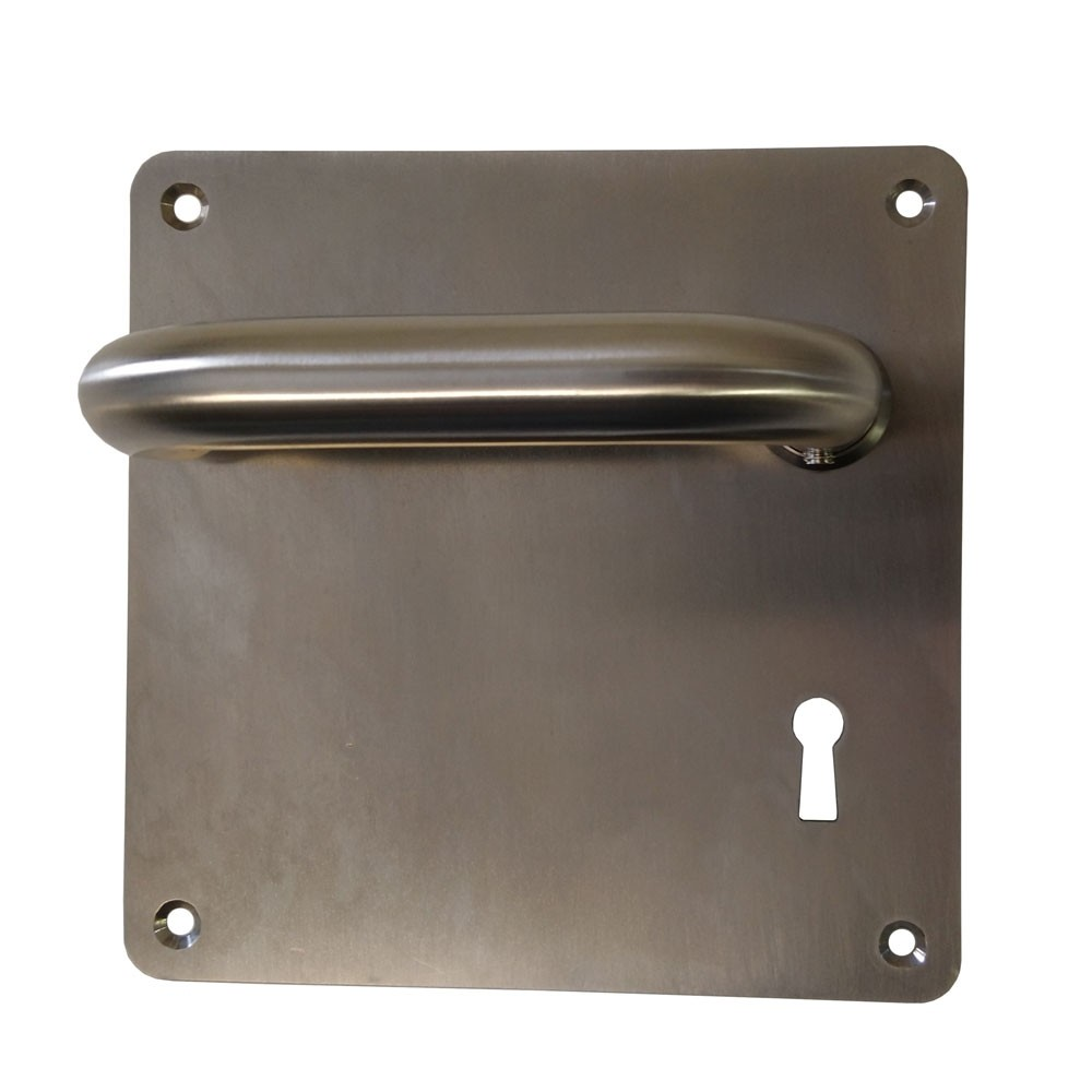 DPS Lever Handle FT08 on Plate Lock