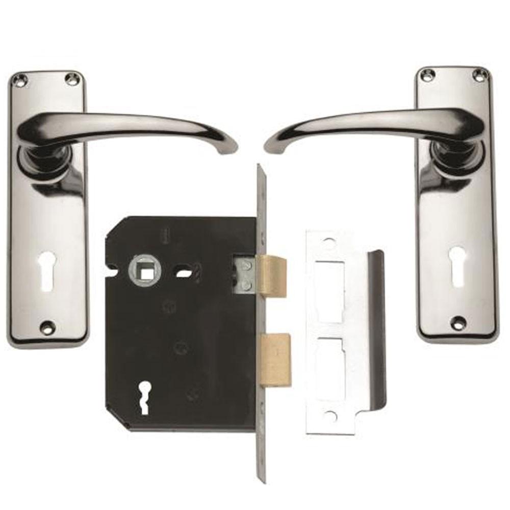 Union 4 Lever Lock Set