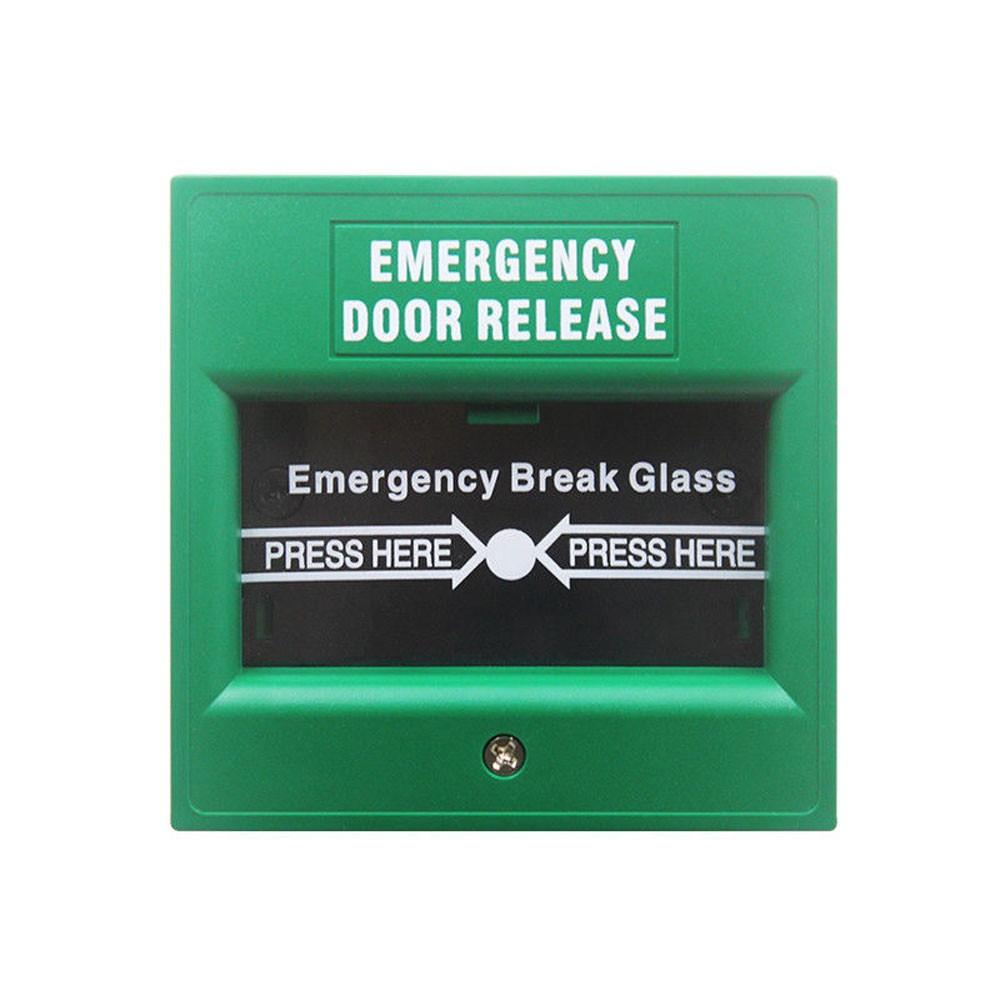 Securi-Prod Emergency Door Release Switch Green