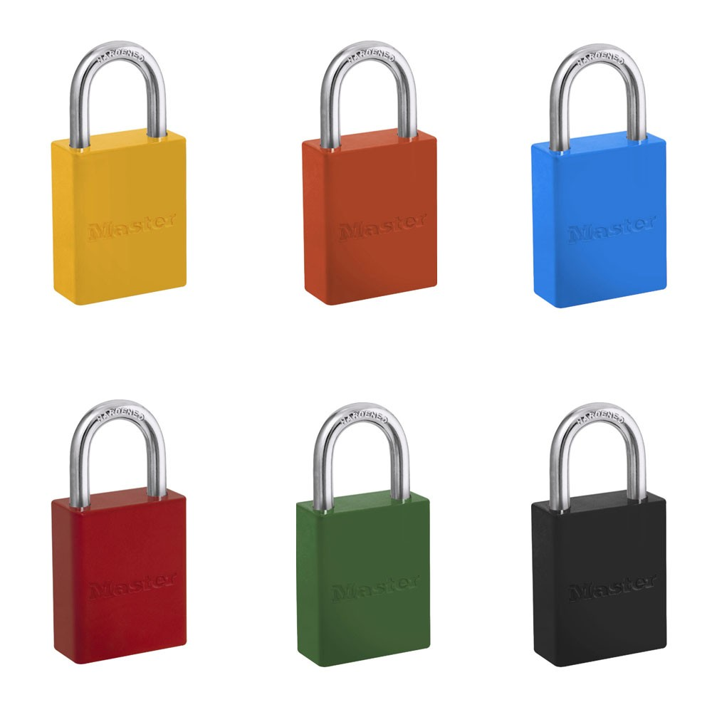 6835 Aluminium Safety Padlocks