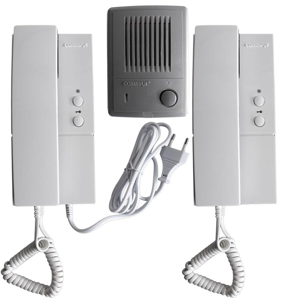 Commax Intercom 1 to 2 Kit