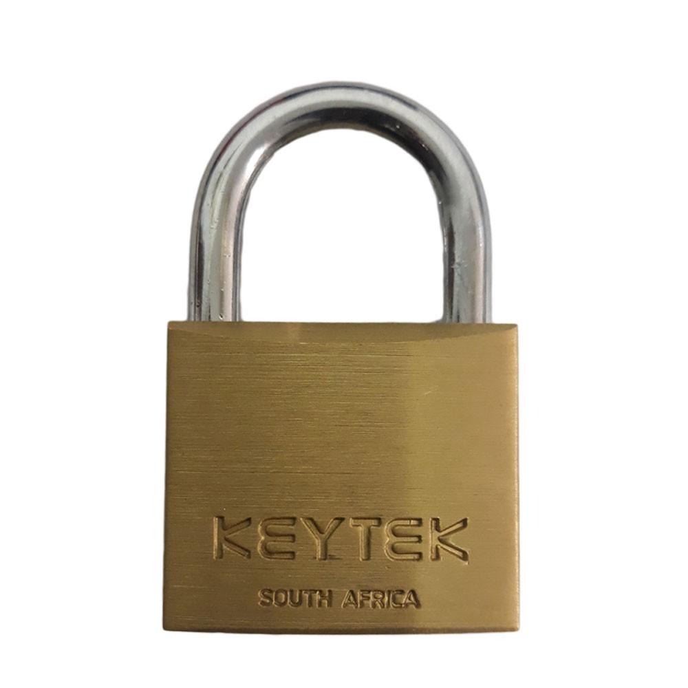 Keytek Brass Padlock 50MM