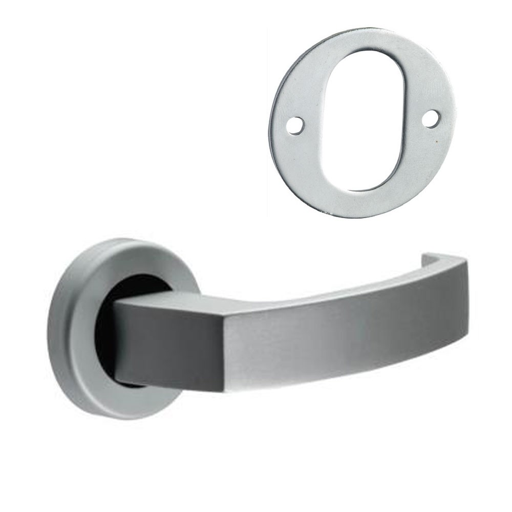 Union Sable Door Furniture On Rose Oval