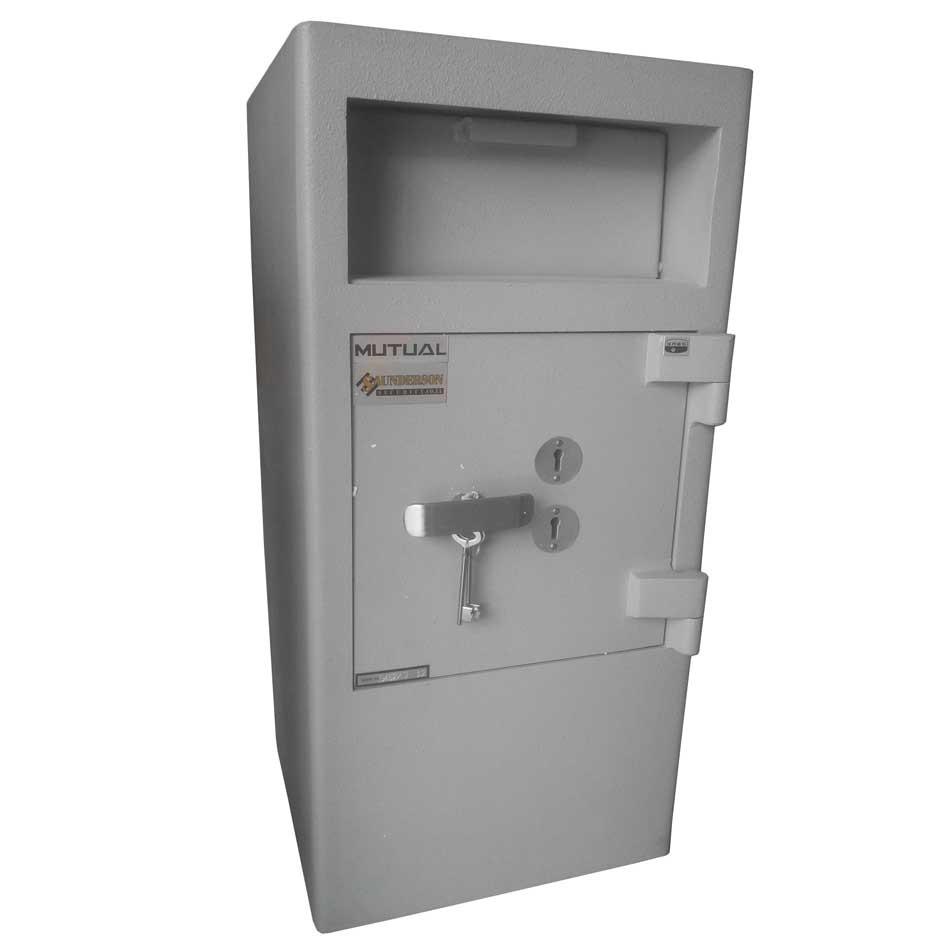 Mutual Hopper Drop Safe Size 2 Dual Locks