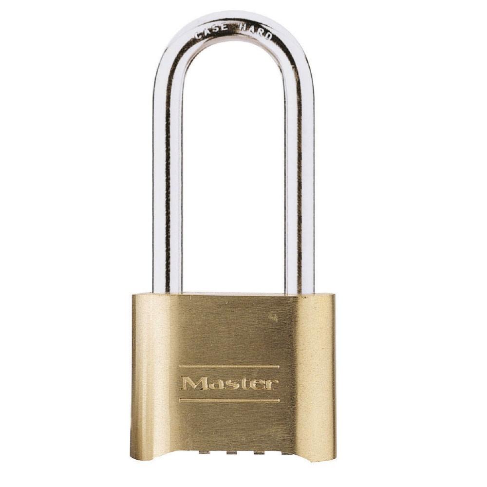 Master Lock Combo Padlock 175D Brass 50mm LS