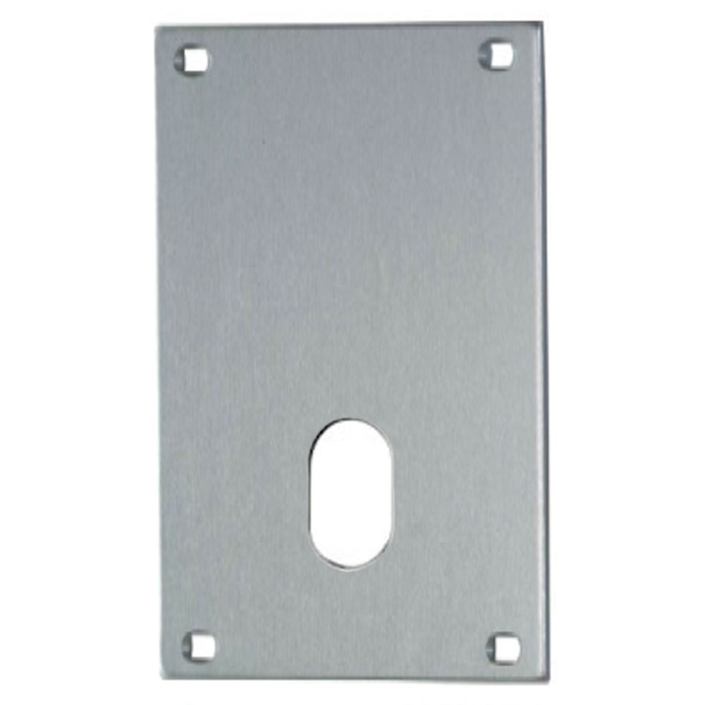 Union Push Plate 76mm Oval