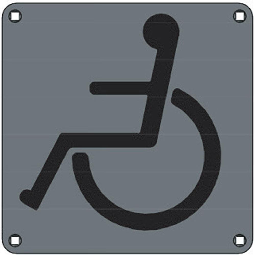 Union Engraved Plate Paraplegic WC
