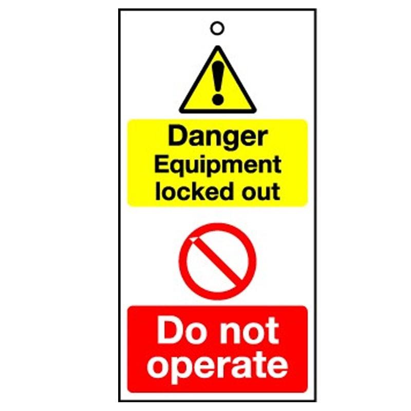 Lockout Tag Danger Equipment Lock