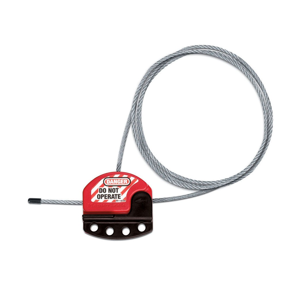 Master Lock Cable Lockout