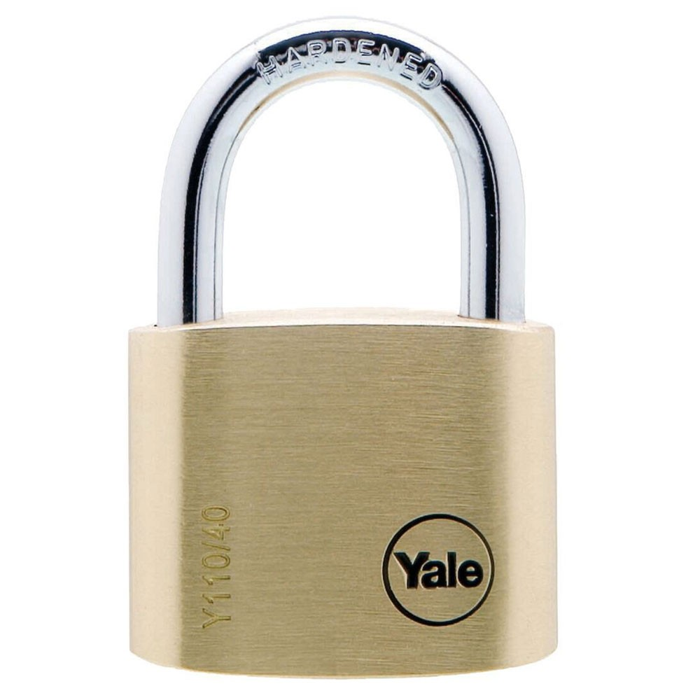 Yale Brass Padlock 40mm