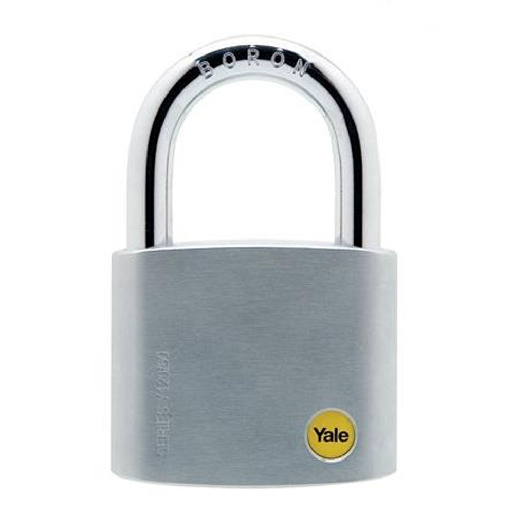 Brass Satin Chrome Padlock 60mm