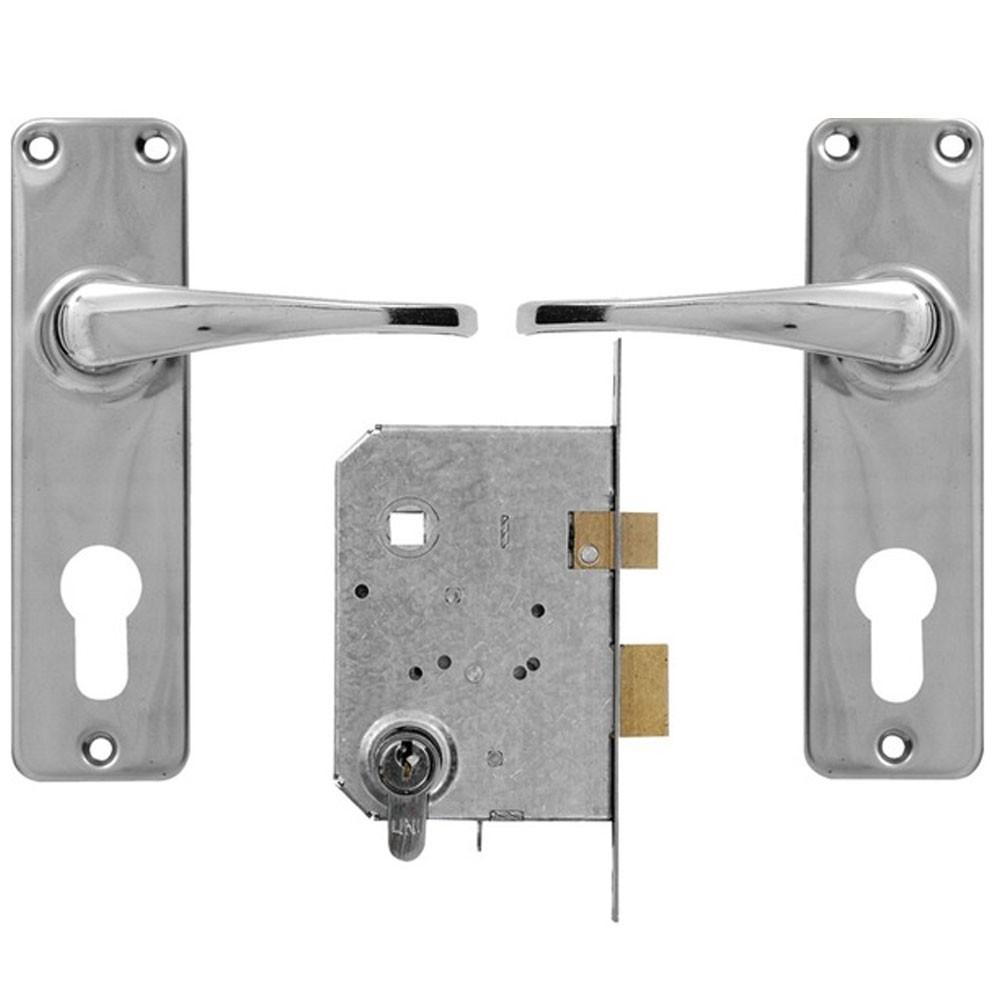 Yale Euro Profile Cylinder Lockset