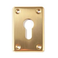Cisa Cyl Escutcheon 06043 Brass Rose