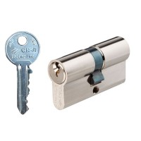Cisa Lock Line Euro Double Cylinder 30/30 NP