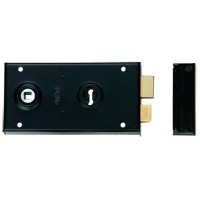 Union 1448 Rim Lock 140mm BLK