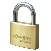 Cisa Logoline Brass Padlock 60mm