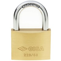 Cisa 22010 Brass Padlock 60mm