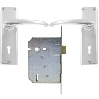 BBL Lock Set 3 Lever MB Keyway
