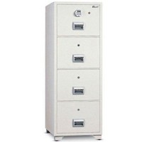 Mutual Fire Resistant Filing Cabinet 4DR Elec