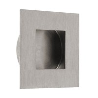 QS Square Flush Pull With Square Pull 70mm