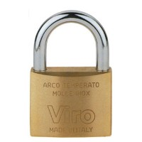 Viro 60mm Brass Padlock