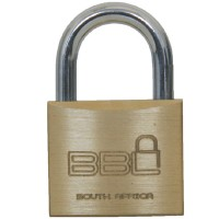 BBL Brass Padlock 60mm