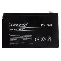 Securi-Prod Battery 12V 8AH Gel SLA