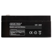 Securi-Prod Battery 12V 3.0AH SLA