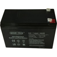 Securi-Prod Battery for Backup Power 12V 7AH