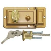 Bird Nightlatch 508 Brass