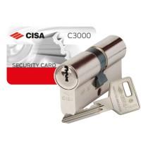 Cisa C3000 Euro Double Offset Cylinder