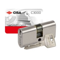 Cisa C3000 Large Oval Double Cylinder