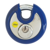 Viro Discus Padlock 70mm Flat Key KA