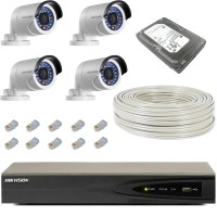 Hikvision IP 8 Channel CCTV Kit SPECIAL