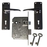 Esco Contractor 2 Lever Lockset CH