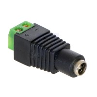 Fortis DC Socket With Terminal Connector Block