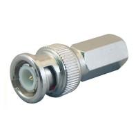 Fortis BNC Crimp Plug Screw In