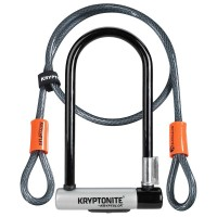 Kryptonite Kryptolok New-U Standard U-Lock & Cable
