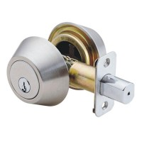 Jaguar Deadbolt Lock Set Diamond 102 SS
